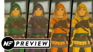 You Can Dye Your Clothes in The Legend of Zelda: Breath of the Wild