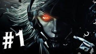 getlinkyoutube.com-Metal Gear Rising Revengeance Gameplay Walkthrough Part 1 - Guard Duty - Mission 1