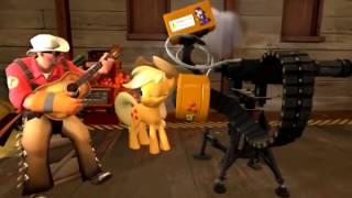 [SFM] Pony Fortress 2 - Teamwork is Magic