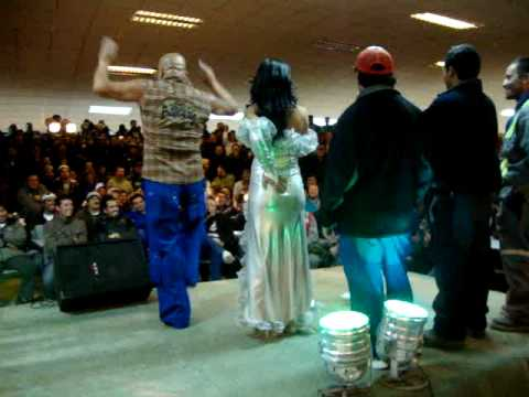 show de la licenciada TETARELLI en collahuasi 2010