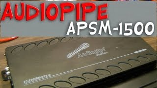 getlinkyoutube.com-Audiopipe APSM-1500 1500w Class D Monoblock Power Output Test