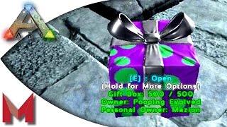 getlinkyoutube.com-ARK: Survival Evolved - Christmas - SantaMaz Gifting on Pooping Evolved - S2E115 Gameoplay