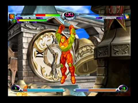 Marvel vs. Capcom 2 - Wolverine, Hulk, Iron Man (Part 1)