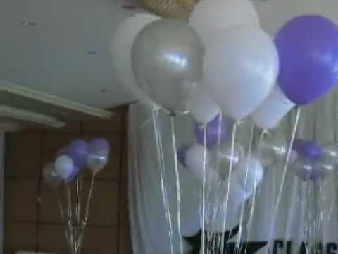 بالونات تخرج - تزيين حفلات التخرج