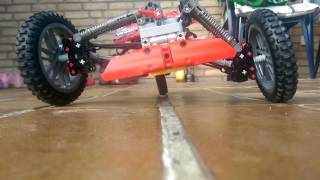 getlinkyoutube.com-Lego Technic carver / tilting trike a prototype.