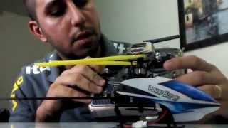 Wltoys V977 Power Star X1 - Regulagem