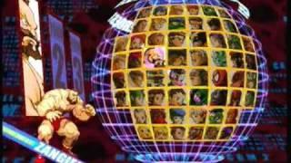 getlinkyoutube.com-Marvel Vs. Capcom 2 All characters select screen