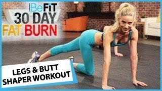 getlinkyoutube.com-30 Day Fat Burn: Legs and Butt Shaper Workout