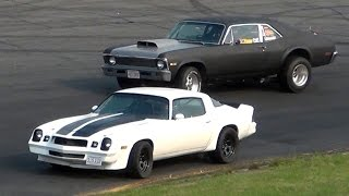 getlinkyoutube.com-Seekonk Speedway Independence Day Thrill Show 2015 SPECTATOR DRAGS