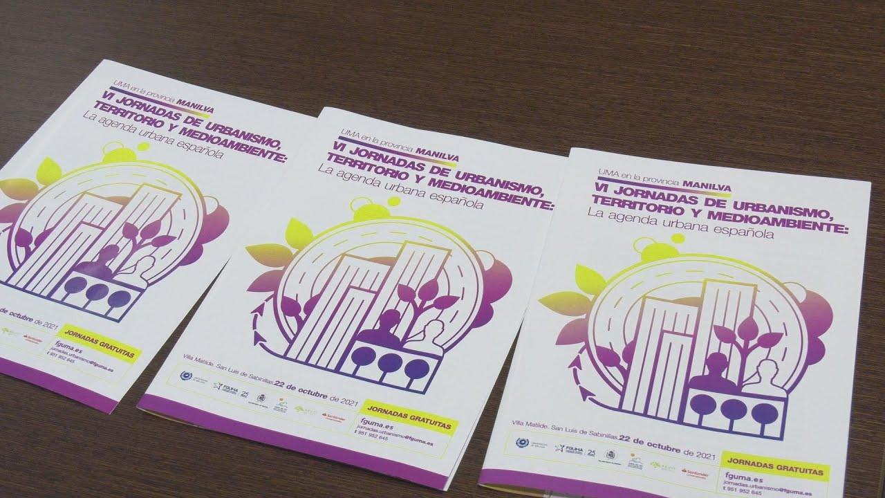 Presentación en la Mancomunidad de las VI Jornadas de Urbanismo