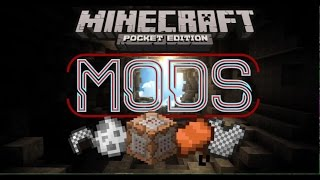 HOW TO GET MODS ON MCPE [0.13] | No Jailbreak and No Computers needed! | Minecraft Pocket Edition