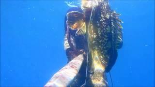 getlinkyoutube.com-Pesca sub cernia maggio 2016