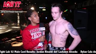 Fight Lab 52 Dylan Cala: 'Couple More Local Fights Then I'll Busting On The Major Scene'
