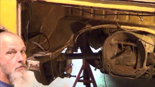 getlinkyoutube.com-1960 VW Double Cab Springplates To Reduction Gears