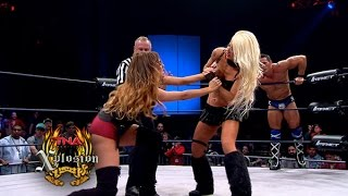 getlinkyoutube.com-Xplosion Match:  Jessie Godderz & Angelina Love vs. Knux and Rebel