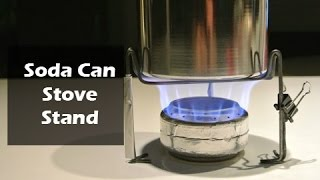 Soda Can Stove Stand