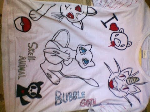Customizar camisa pokemon [TUTORIAL]
