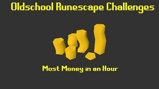 OSRS Challenges: Who can make the most money in 1 hour? - Episode 1