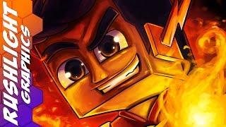 getlinkyoutube.com-Minecraft SpeedArt - AM3NIC Avatar & Banner