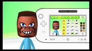 getlinkyoutube.com-Mii Maker How To Create Steve From Minecraft