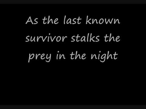 Eye of the tiger -Lyrics-