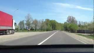 getlinkyoutube.com-Ukraina - trasa Korczowa - Lwów