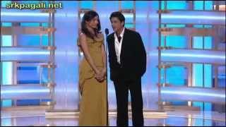 getlinkyoutube.com-Shahrukh Khan Presenting Slumdog Millionaire At Golden Globe Awards 2009