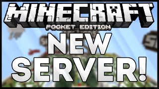 NEW SERVER FOR MCPE! 0.13.1
