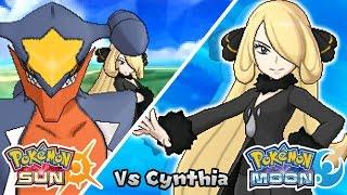 getlinkyoutube.com-Pokémon Champion Title Challenge 2: Champion Cynthia (Game Edited)