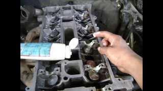 getlinkyoutube.com-Motor Ford 2.3 Lts. 16 V. Sincronización Timing chain kit installation.