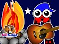 """Campfire ABCs Song"" | Teach Babies, Toddlers, Kids, Preschoolers & Kindergarten Children English"