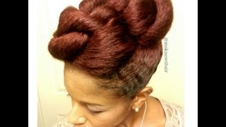 getlinkyoutube.com-Twisted Mohawk: How To Protective Style