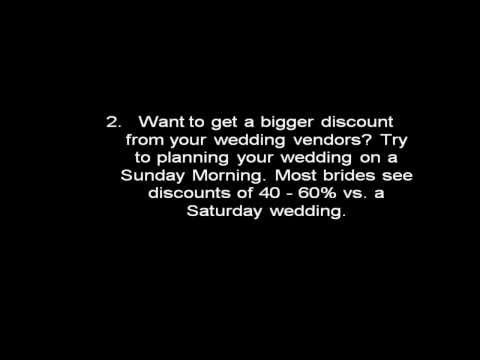 5 Ways to Save Money on Your Wedding!