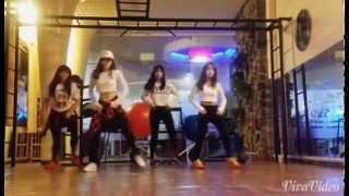 getlinkyoutube.com-Hướng dẫn nhảy C.walk - Suffle bài Ma Baby - Tutorial