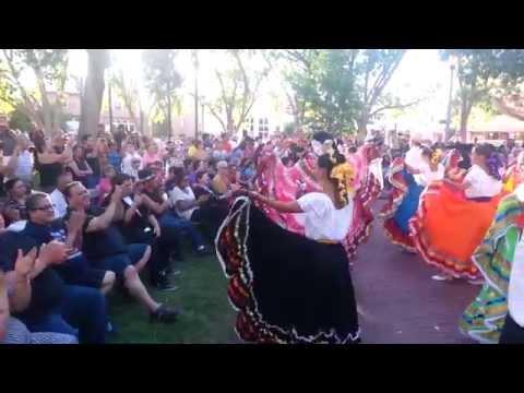 Asociacion Nacional De Grupos Folkloricos ANGF Old Town Albuquerque