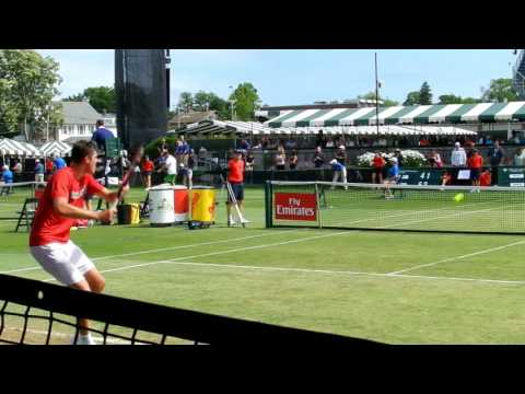 Sick Shot of the Day: Frank Dancevic, Tennis Hall of Fame 2016