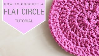 getlinkyoutube.com-CROCHET: How to crochet a flat circle | Bella Coco
