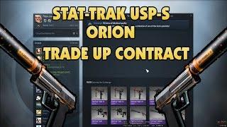 getlinkyoutube.com-CS:GO: StatTrak USP-S ORION TRADE UP!