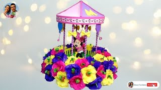 getlinkyoutube.com-Centro de Mesa para Fiestas, Bombonera Minnie Paso a Paso