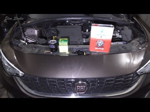 Где у FIAT Типо находится фильтр двигателя