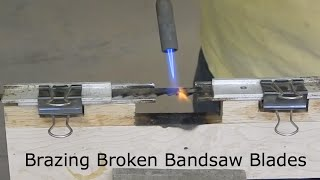 getlinkyoutube.com-Brazing Broken Bandsaw Blades