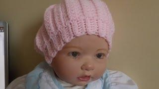 getlinkyoutube.com-Crochet gorro para Bebé - con Ruby Stedman