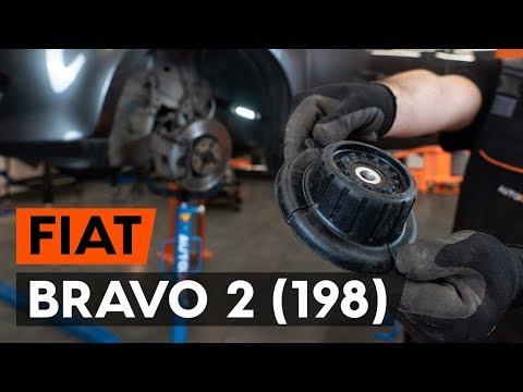 Как заменить опору передней стойки амортизатора FIAT BRAVO 2 (198) (ВИДЕОУРОК AUTODOC)