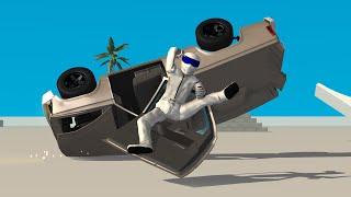 getlinkyoutube.com-BeamNG.drive Flying Stig Mod Gameplay