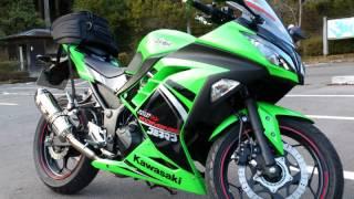 getlinkyoutube.com-ninja250 ノーマルマフラー&ヨシムラ R-77S 排気音比較
