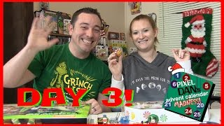 getlinkyoutube.com-Advent Calendar Mini Figure Madness 2016 - DAY 3 - Disney Tsum Tsum, TMNT, and Thomas!