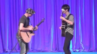 getlinkyoutube.com-Superstition - Petteri Sariola & Sungha Jung (live)