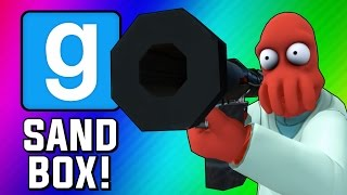 getlinkyoutube.com-Gmod Sandbox Funny Moments - Fish Tank, Wii Sports, Trippy Maps, Crazy Bombs! (Garry's Mod)
