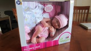 getlinkyoutube.com-Reborn Baby by La Newborn Baby Doll by Berenguer
