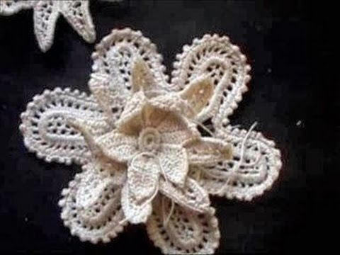 Irish Crochet Lace Medium Flower